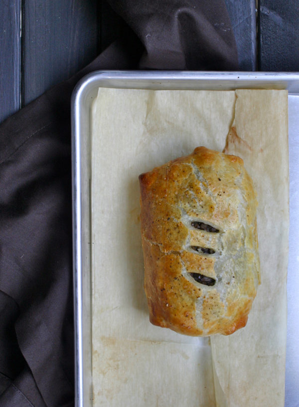 Beef Wellington whole