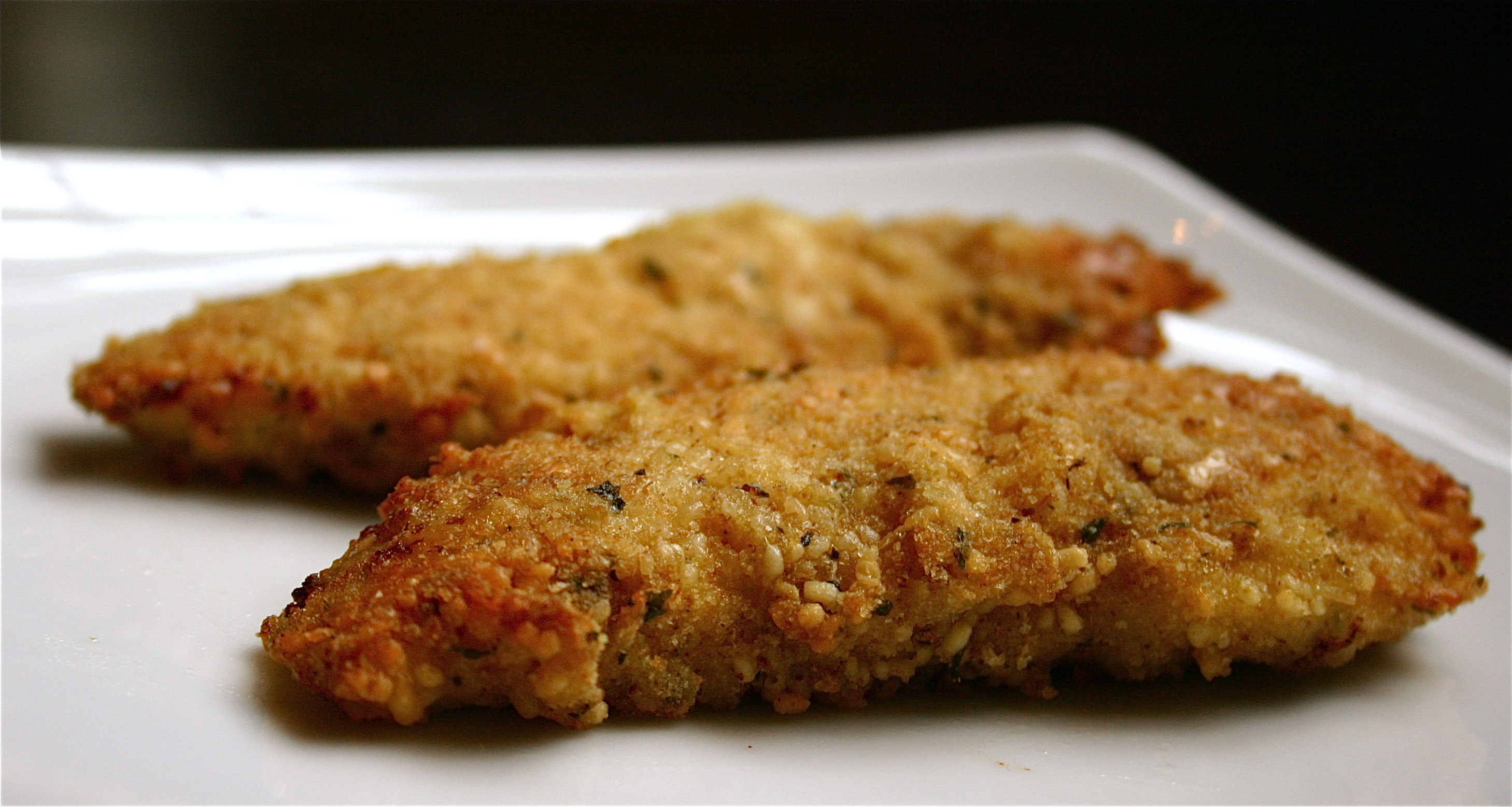 Parmesan Crusted Chicken - Deliciously Declassified