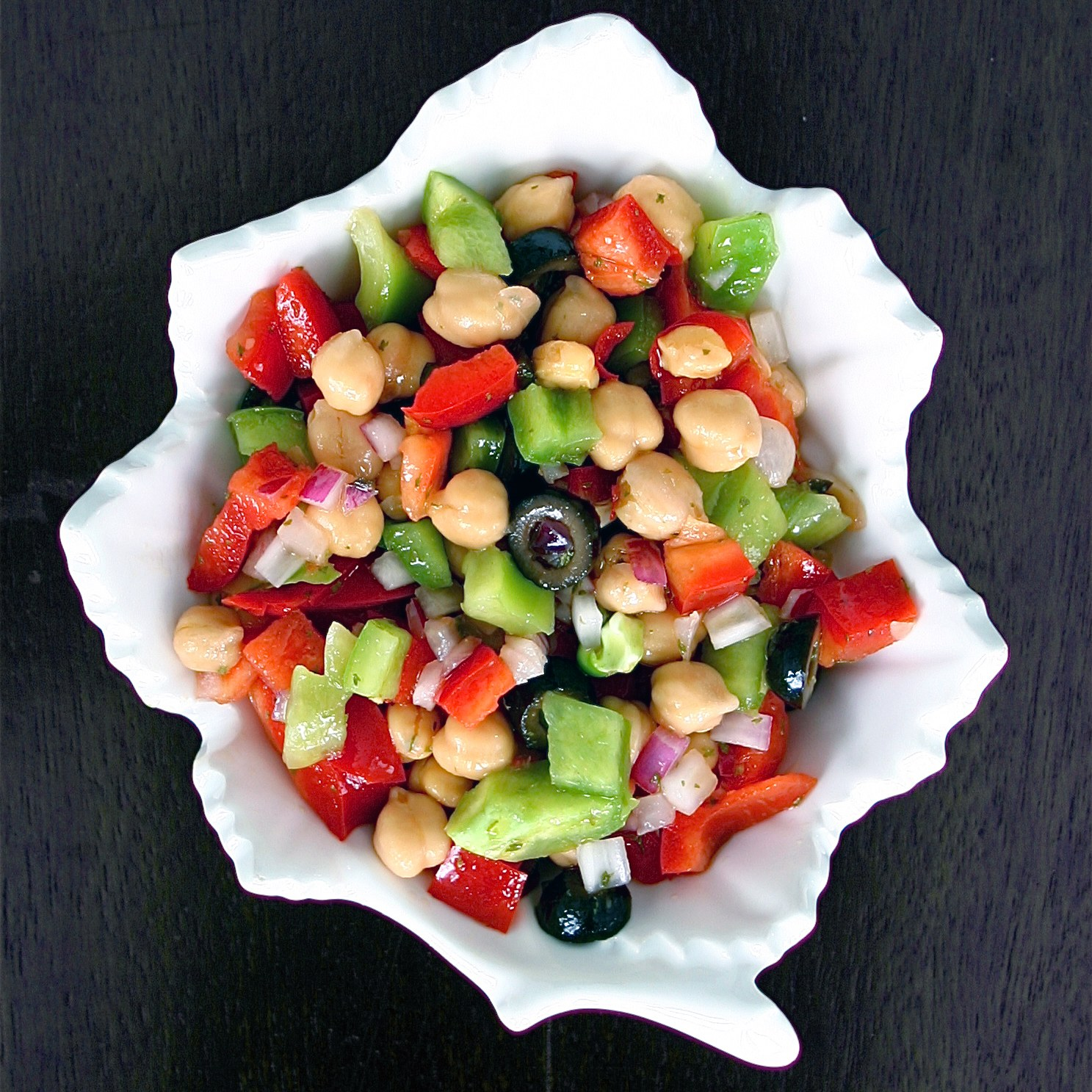 Chickpea Salad - Deliciously Declassified