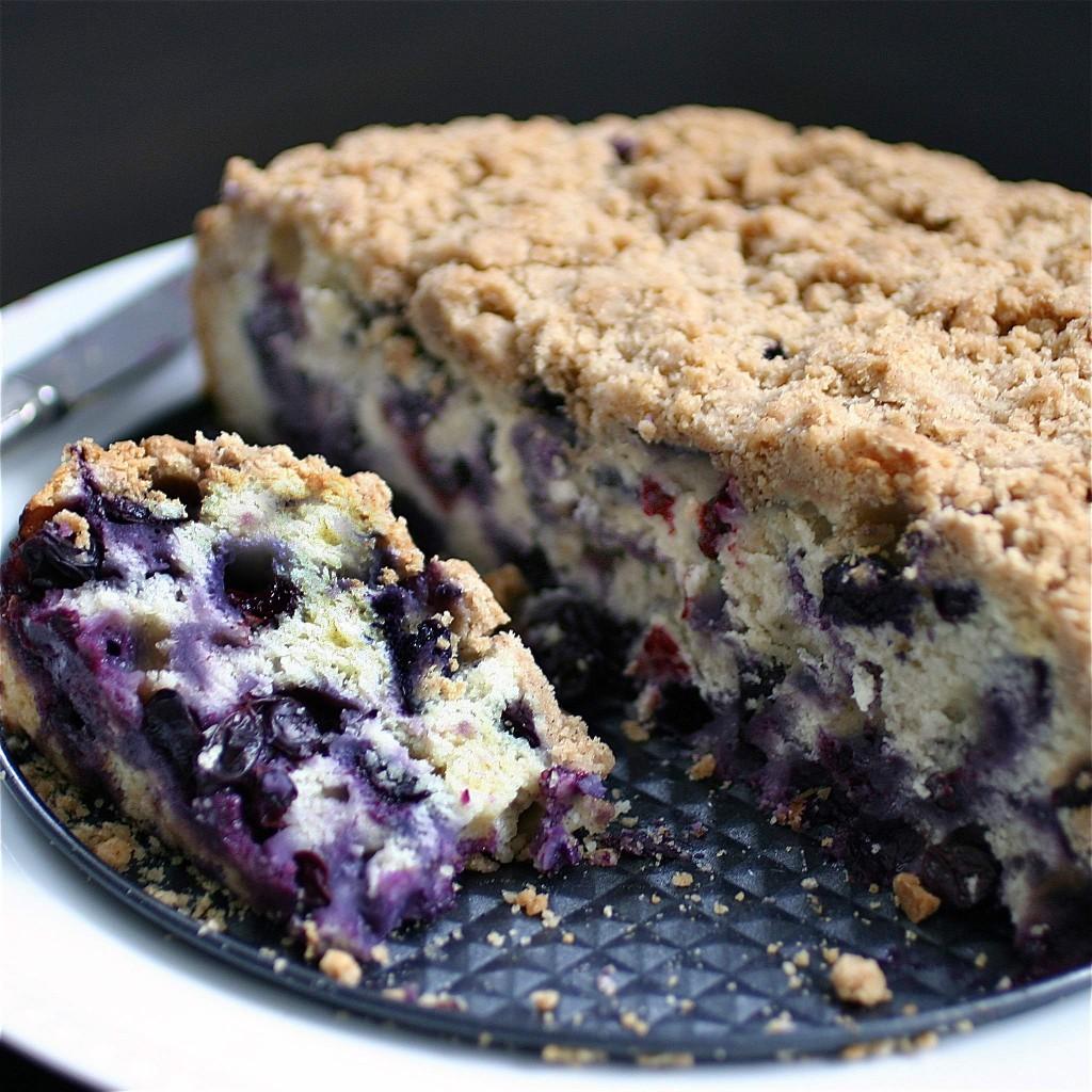 Martha Stewart Blueberry Buckle Cake Recipe