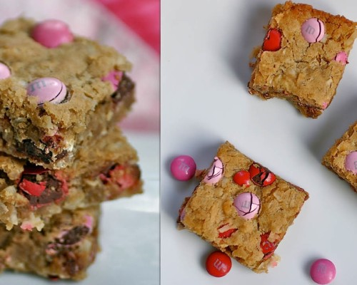 vday blondies