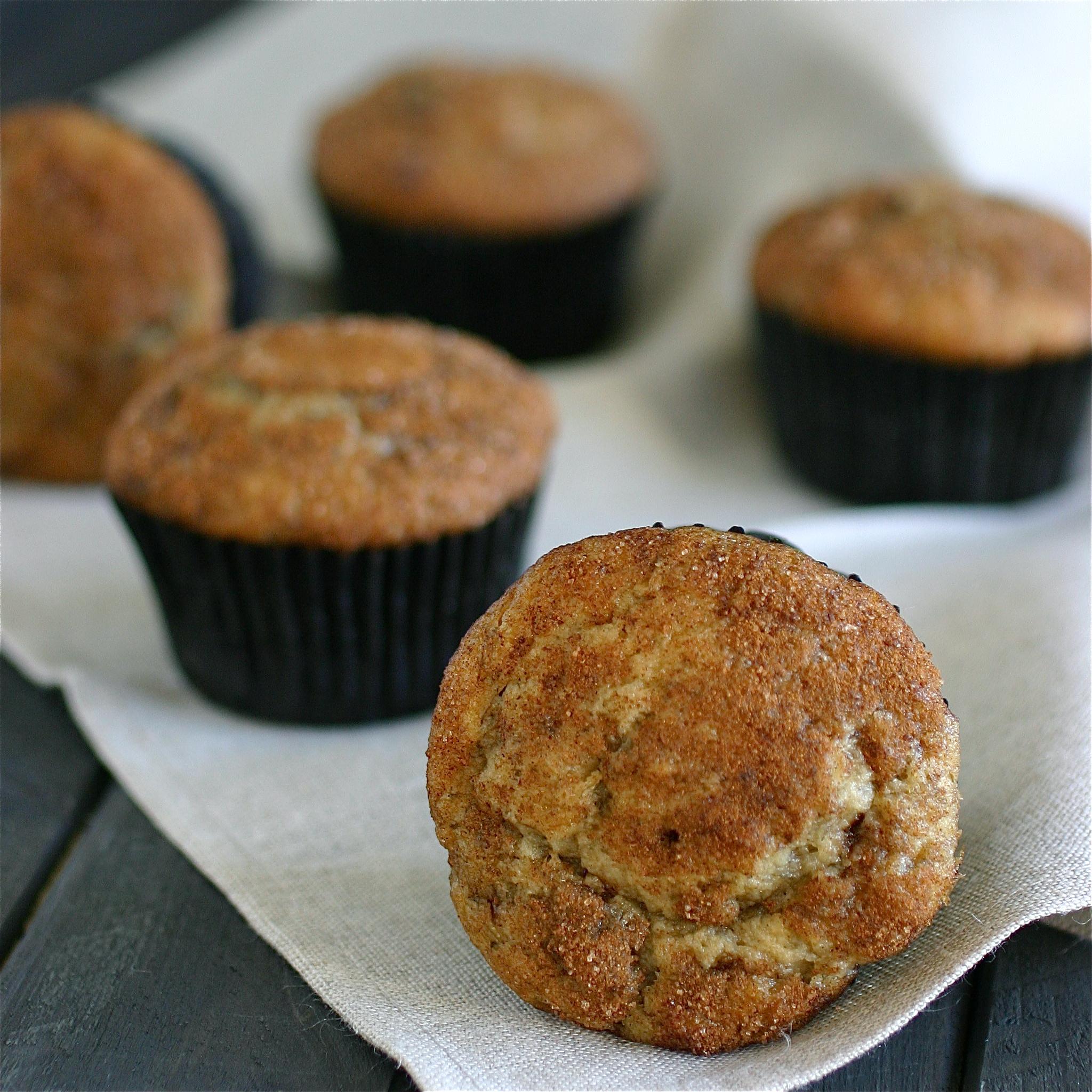 Cinnamon Swirl Banana Muffins Deliciously Declassified
