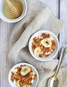 Honey Banana Coconut Granola
