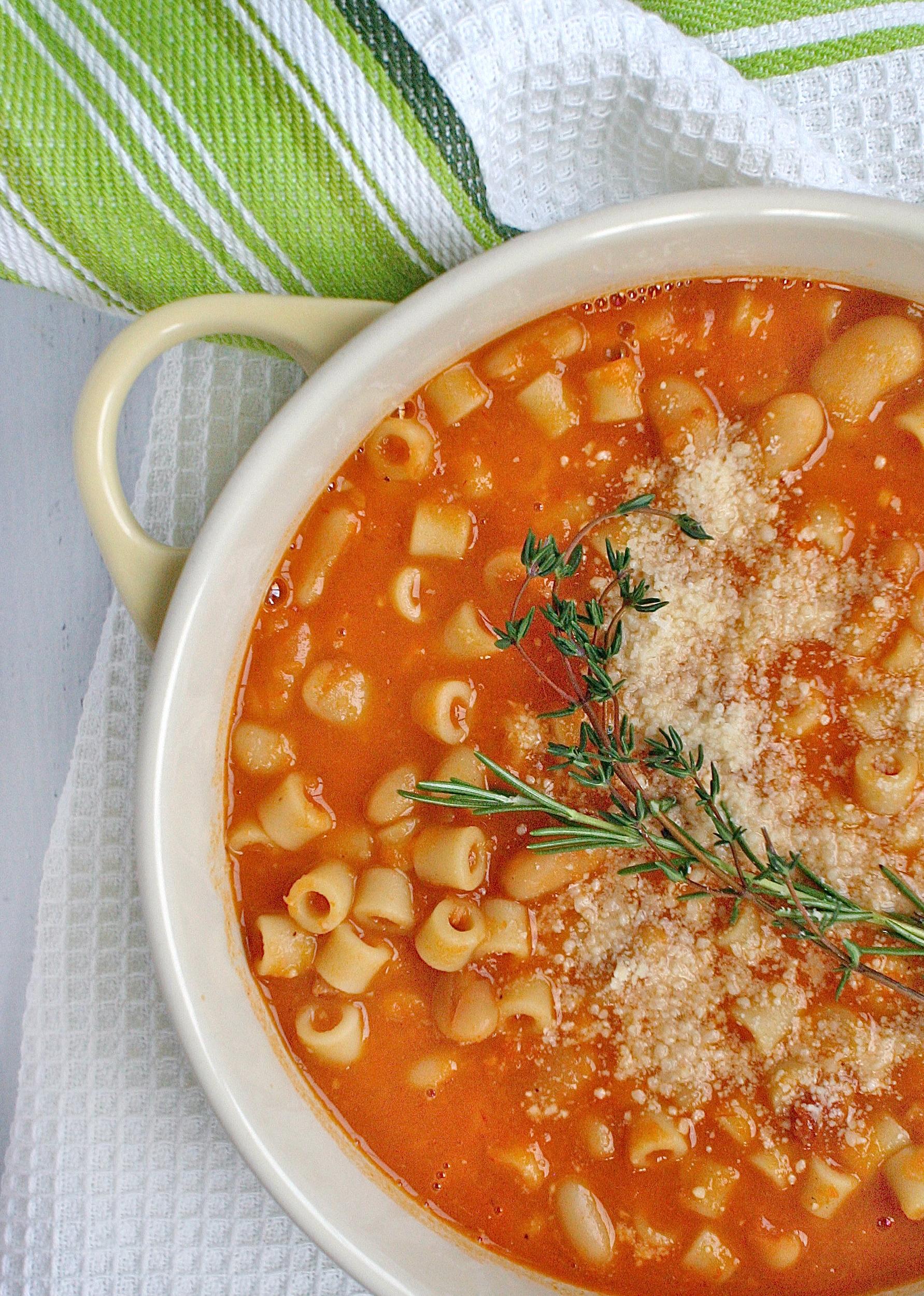Pasta a Fagioli 2 close
