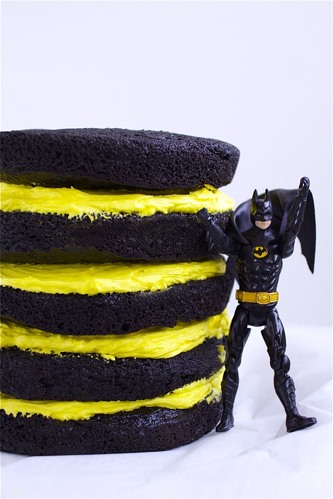 Batman Cake Naked