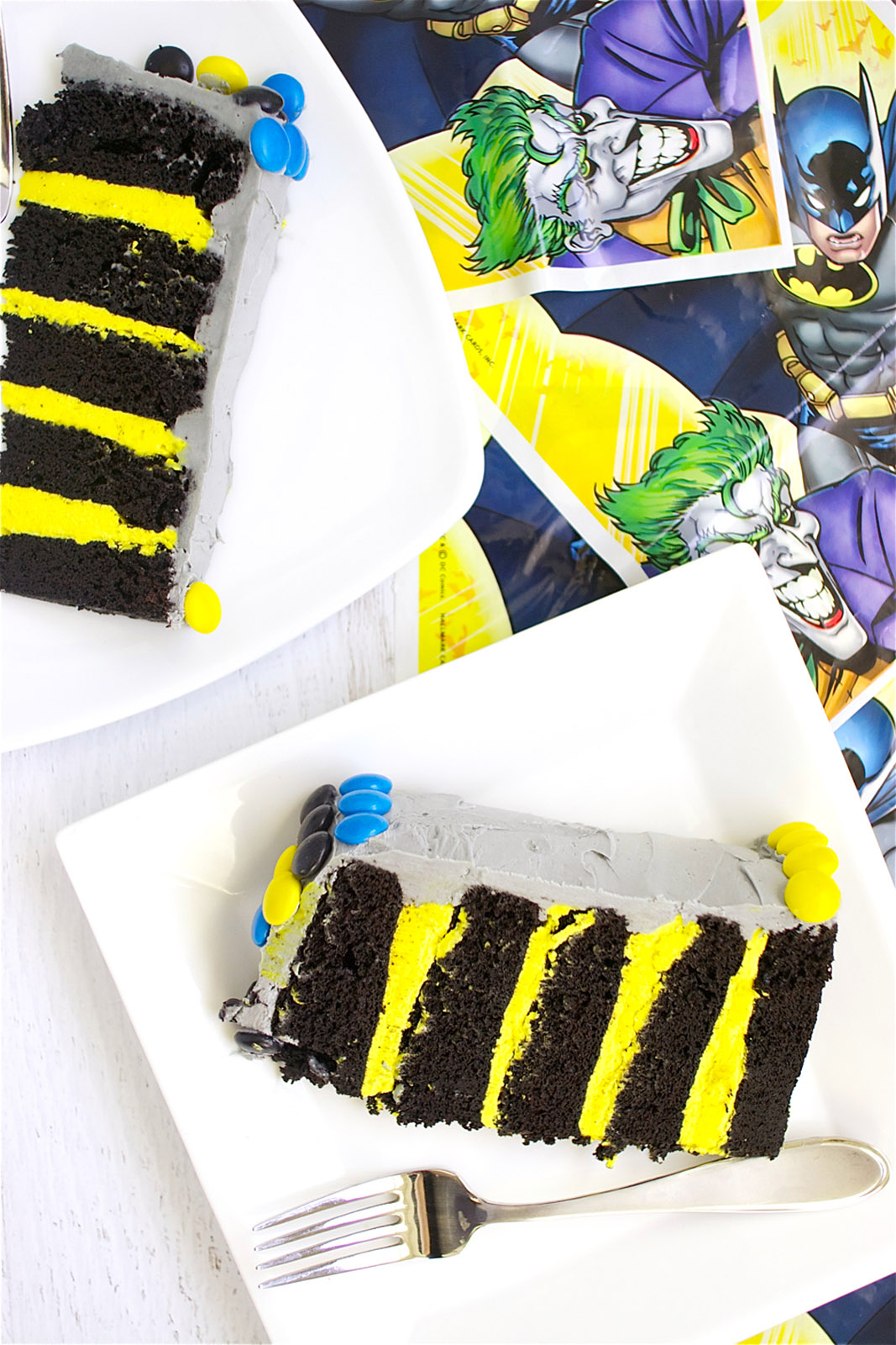 Batman Cake Slices