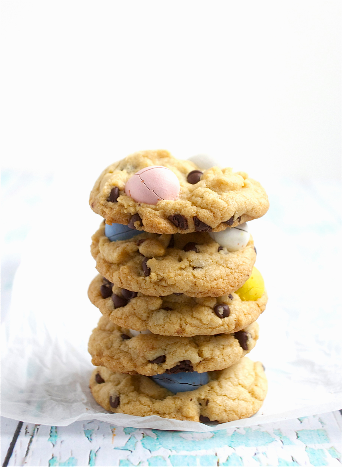 Easter Egg Cookie Stack