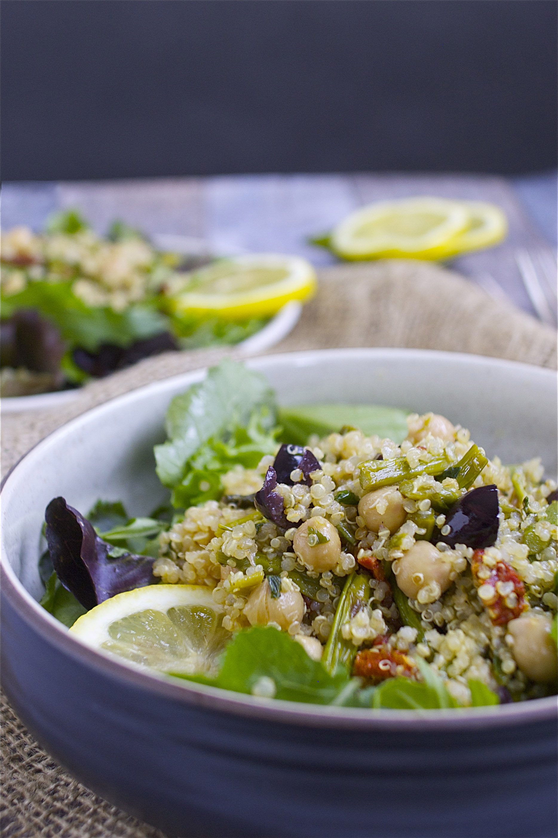 Spring Quinoa Salad Close
