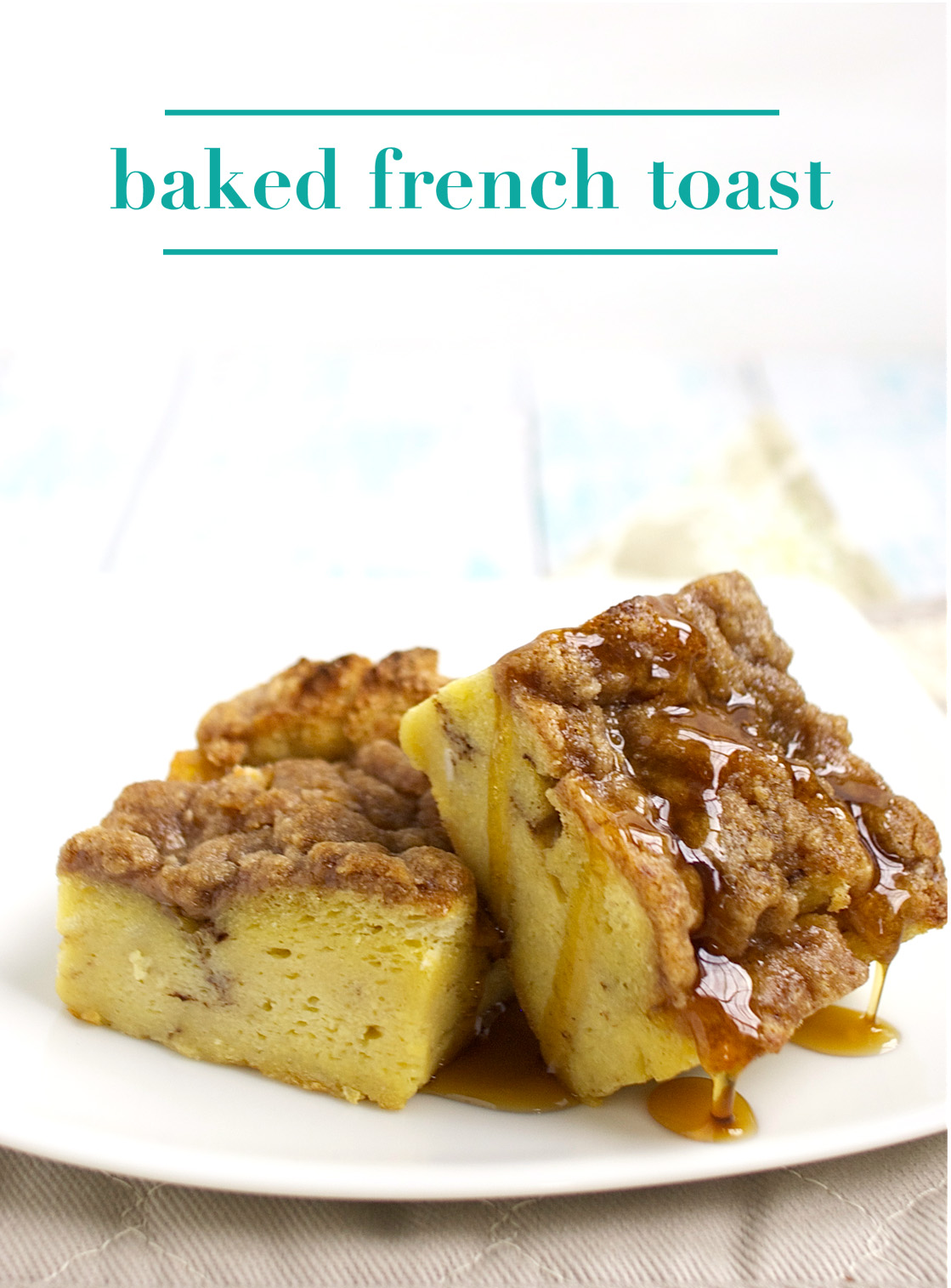 Baked French Toast Pin