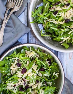 Orzo and Arugula Salad