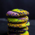 Spooky Swirl Cookie Stack