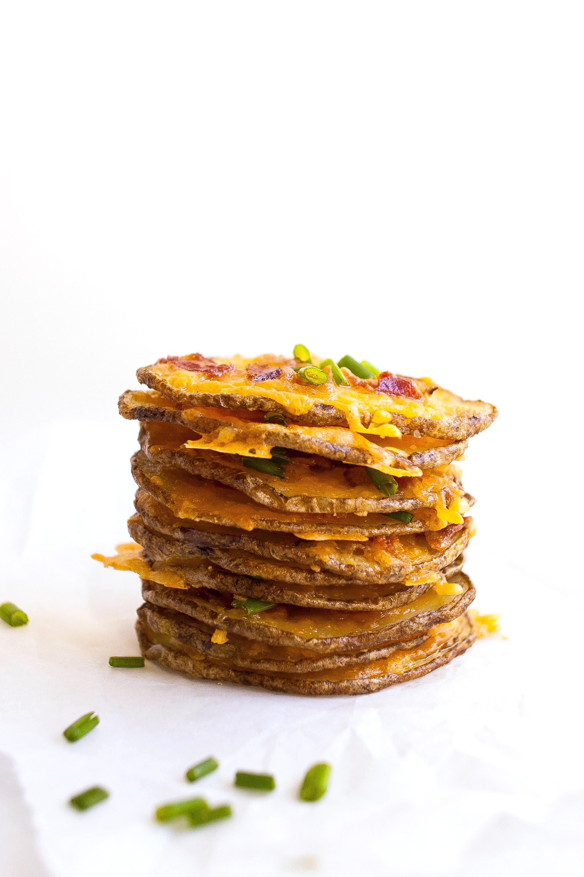 Potato Skin Thins Stack