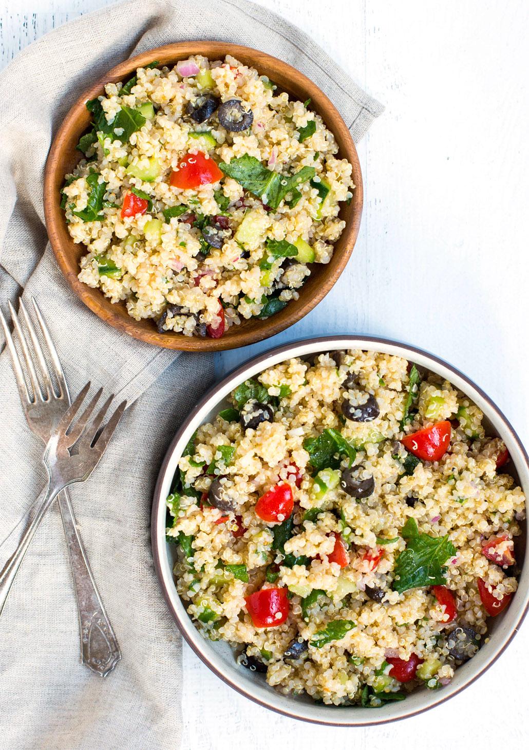 Kale Quinoa Salad 1