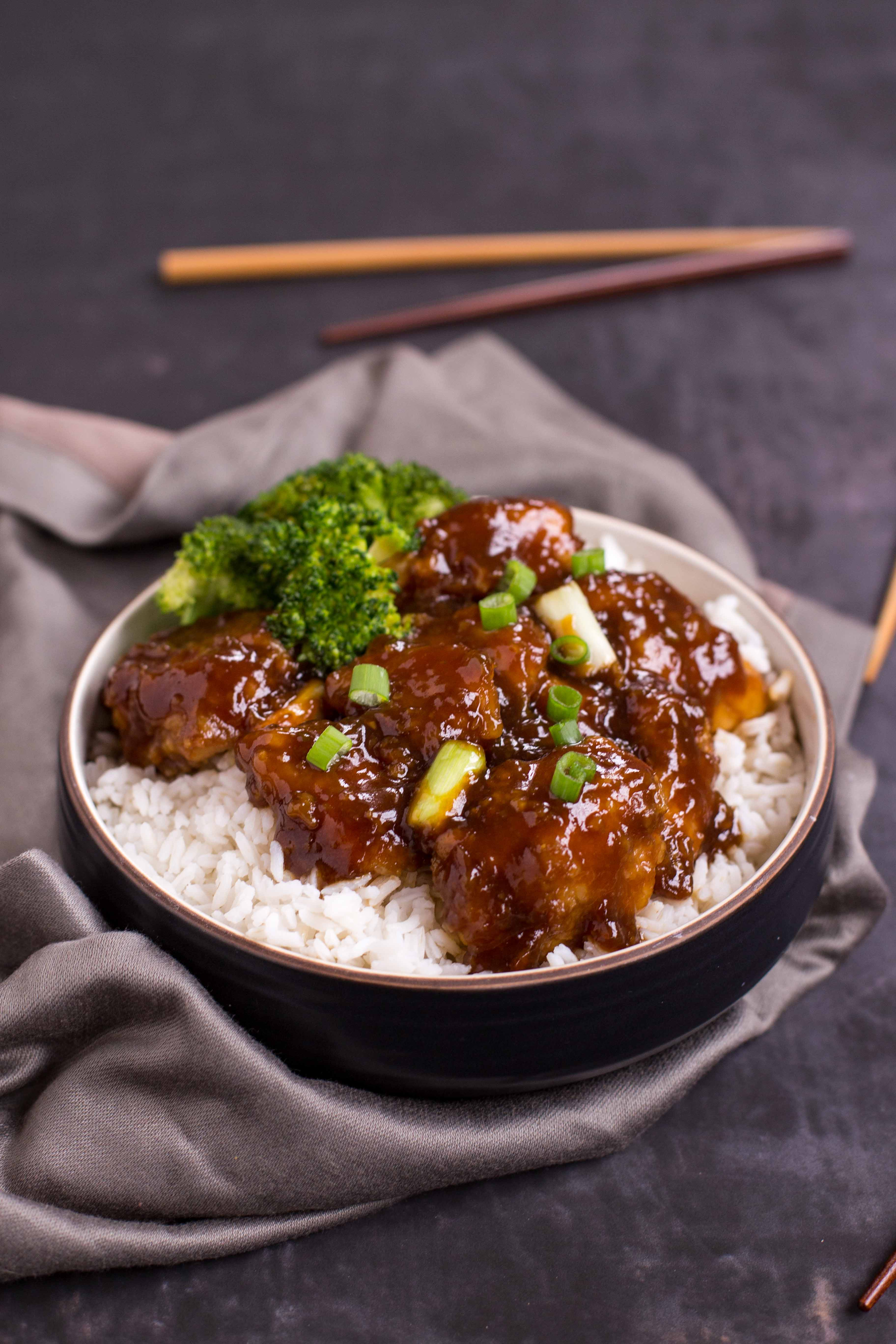 Baked General Tso S Chicken Deliciously Declassified